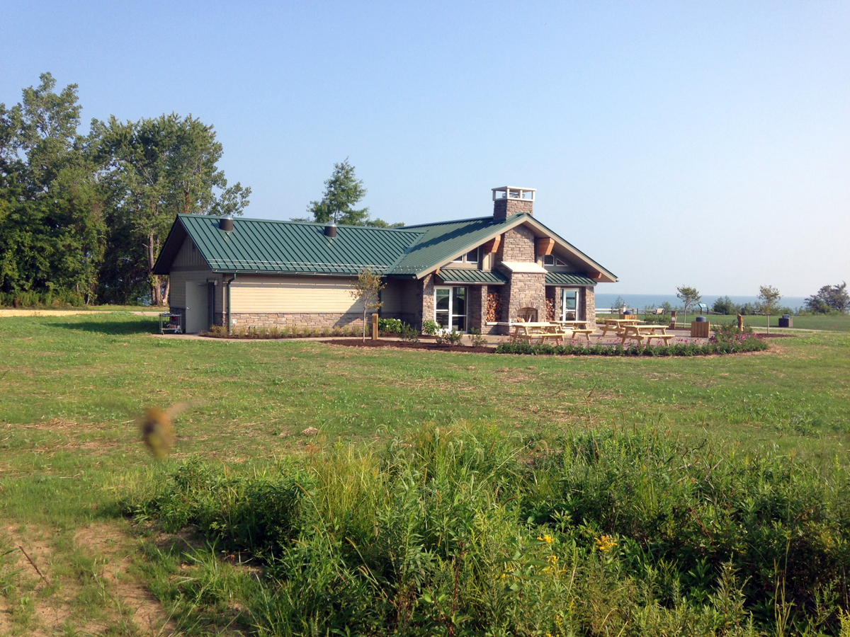 Lake Erie Bluffs Pavilion & Utilities Construction